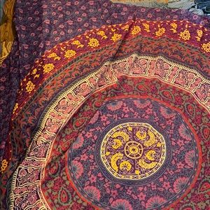 Tapestry - Plum and Blow
